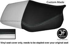 Blanco Y Negro Automotriz Vinilo personalizado para Honda CBR 600 F Dual 91-96 Funda De Asiento