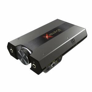 Creative Sound blasterx g6 Portable USB DAC sbx-g6 für PC/ps4/Switch NEU