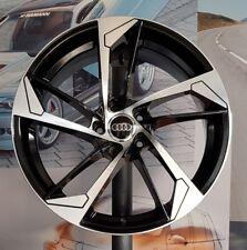 """Set 4 Cerchi in Lega 19"""" per Audi A4 B8 Rims Jantes Ruote Velgen Felnik Disky BD"""
