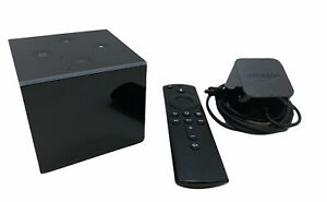 Amazon Fire TV Cube EX69VW (1st Gen) 4K HDR w/ Voice Remote - TESTED And Working