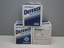 Lot of (3) Defense DL5632 Engine Oil Filter PH30 V-49 1069 PF25 PF35 51069 CF25