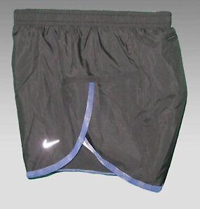 NIKE Ladies DriFit Super Lightwight Running Athletic Shorts Black Small 8