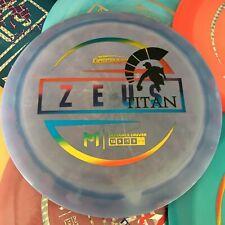 DISCRAFT Paul McBeth 173-174g Swirly ESP Zeus Disc Golf Driver Pick Your Disc!