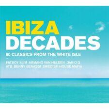 IBIZA Decades 60 Classics From The White Isle CD 2015 Original UK SELLER