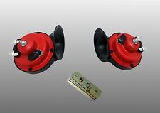 UNIVERSAL 12V HORN HUPE PAAR BOOT AUTO TRANSPORTER