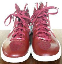 Women's US Size 12 Nike Zoom HyperDunk Basketball Shoes Maroon / White Trim