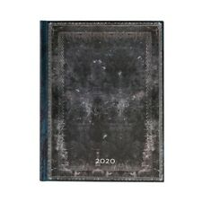 Paperblanks 2020 Diary Midnight Steel Ultra Day-A-Page Appts 12 Month Planner