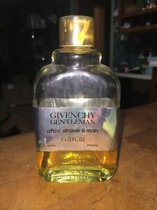 GIVENCHY Gentlemen After Shave Lotion 1/4 Full