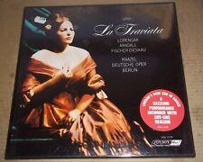 Maazel/Lorengar/Aragall/Fischer-Dieskau VERDI La Traviata London OSA 1279 SEALED