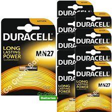 10 x Duracell MN27 A27 12 V Batería Alcalina 27 A GP27A V27A E27A EL812 mandos a distancia