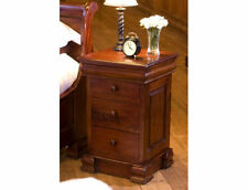 Mahogany Contemporary Over 70cm Bedside Tables & Cabinets