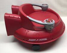 Radio Flyer Spin 'N Saucer #636 Toddler Ride On Rolling Spinning Toy with Sound