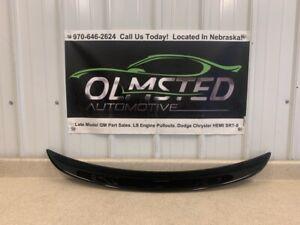 2014 2017 Chevrolet SS Sedan Rear Trunk Spoiler Deck Lid Black GM 92259344 OEM