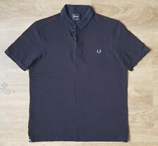 Men's FRED PERRY Short Sleeve Slim Fit Polo Shirt, Size L