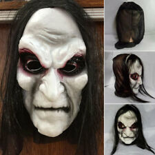 New Halloween Scary Full Face Mask Zombie Easter Cosplay Bloody Ghost Custumes