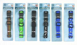 Greenbrier Kennel Club Dog Collar Adjustable Black Green Multicolor