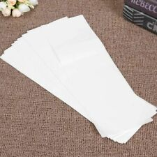 Professional Hair Dye Paper Coloring Hairs Strips 100 Pcs Highlight Tissue White