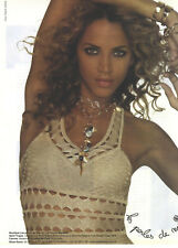 PUBLICITE advertising  2006   NOEMIE LENOIR porte les perles de NOA