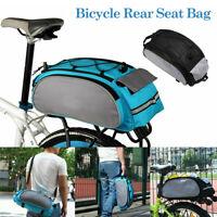Bike Packing Bicycle Seat Rear Bag Bike Pannier Pouch Trunk Rack Pack Waterproof