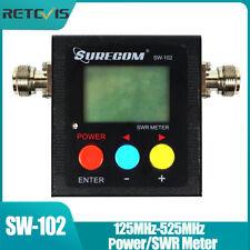Digital Power/SWR Meter VSWR VHF/UHF 120W 125MHz-525MHz für Funkgerät