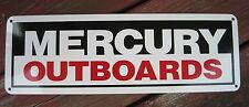 Mercury Marine Outboard Motor Sign Mechanic Marina Parts Advertising Logo 10day