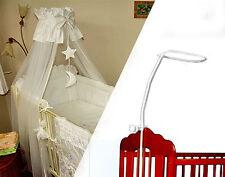 Support pour lit parapluie bébé drapé canopée moustiques rod bar clamp pole lit bébé