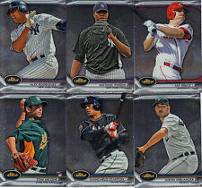 """2012 TOPPS  BASEBALL """"FINEST""""     PICK YOUR OWN 10 CARD LOT"""
