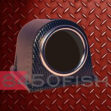 """Single Gauge, Meter, Pod, Holder, Bracket 2"""" or 52mm Carbon Fiber housing"""