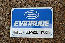 Evinrude Service Sales Sign Marina boat outboard motor