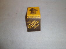 E.J. Mike Welter Sherriff 1930 LaSalle,IL Matchbook
