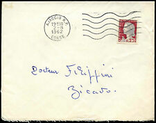 France 1962 Commercial Cover #C38755