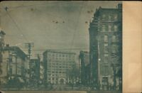 Court St. East - Published in Binghamton NY c1905 Postcard