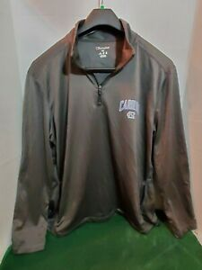 Champion Mens 2XL NC Tarheels Pull Over Light Weight Jacket Long Sleeve