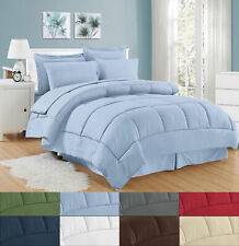 Hotel Collection 8 Pc. Striped Bed in a Bag Comforter Set - Asst. Colors & Sizes