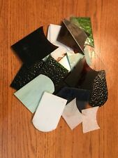 Stained Glass Pieces Scrap Lot 2 Lbs
