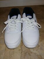 Pony Mens White/Blue Size 9.5 Sneakers Retro Lace Up Shoes Pre-owned