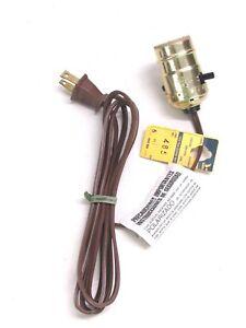 NEW! EAGLE 6' PUSH-THROUGH LAMP MEDIUM LIGHT SOCKET ASSEMBLY, #485