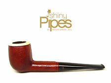 BLOCK MEERSCHAUM Leather Wrapped  Hilson Briar Estate Pipe AWESOME - 5