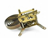 altes Uhrwerk m Federaufzug Ersatzteil f Uhrmacher Wanduhr Küchenuhr Uhr clock