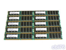 lot 10 mémoire de 512MO MICRON (10X512MO) DDR PC2700 DIMM 333MHZ 184PIN