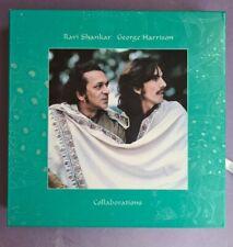 George Harrison Ravi Shankar 3 CD DVD Box Set Collaborations Chants of India LP