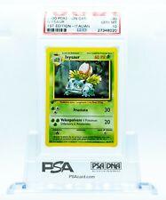 PSA 10 ITALIAN Ivysaur #30 1st Edition Pokemon Card GEM MINT 10 **POPULATION 3**