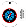 Compass (Travel Bug) For Geocaching - Trackable Tag - Unactivated