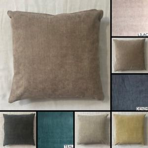 Premium Fernando Faux Suede Cushion Cover Handmade Pillow Case Sofa Bed Decor