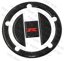 3D Carbon Fiber Gas Cap Tank Cover Pad Sticker For SUZUKI GSX-R600 2004-15 Nice