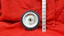 """6"""" Serrated Contact Wheel for 2x72 Belt Sander Grinder"""