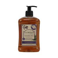A La Maison French Liquid Soap Lavender Aloe (16.9 fl Oz)