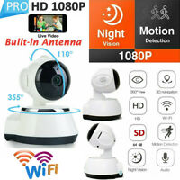 Smart WiFi Audio CCTV Camera Wireless IP Camera 1080P HD Home Security Monitor