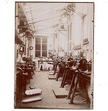 U135 Photographie vintage Originale Atelier Léon Vaché industrie machine