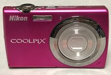 Nikon Coolpix S220 pmagenta camera dummy 90% condition